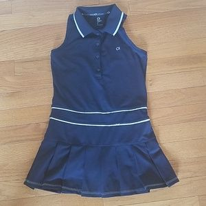 Girl's Gap navy blue tennis dress size m
